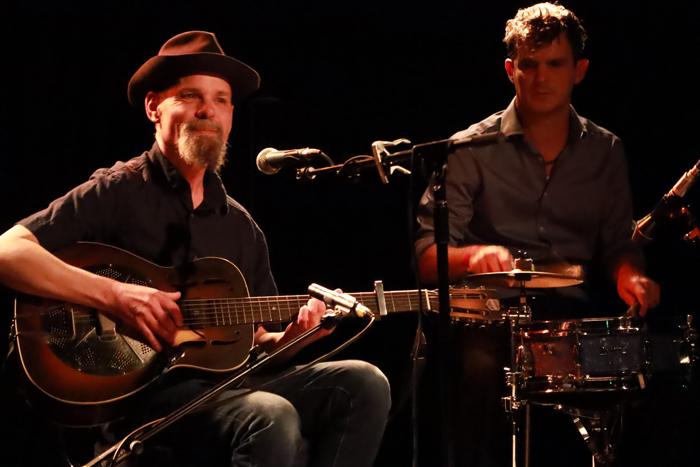 Mark Harrison with Ben Welburn