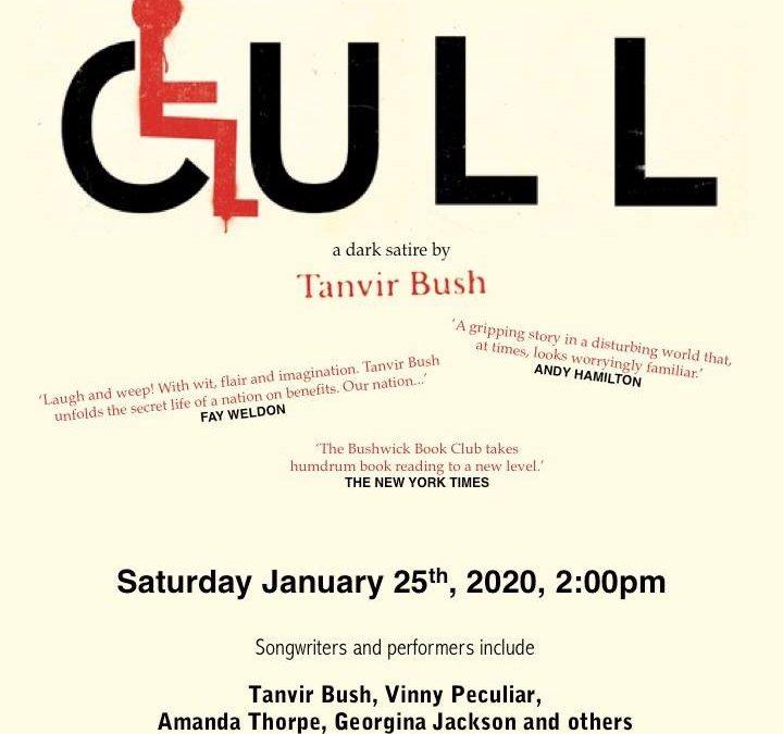 The Bushwick Book Club: London Chapter responds to CULL by Tanvir Bush