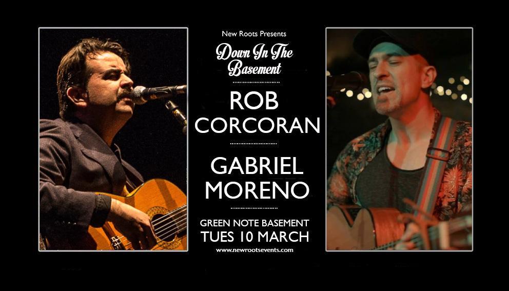 Rob Corcoran + Gabriel Moreno